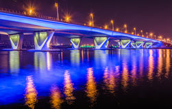 Garhoud桥梁 库存照片