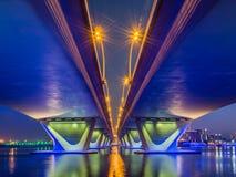 Garhoud桥梁 库存图片