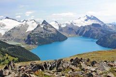 Garibaldi湖 图库摄影