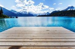Garibaldi湖 免版税图库摄影