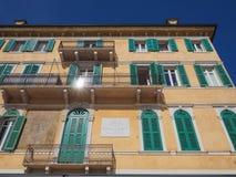 Garibaldi dom w Verona zdjęcie stock