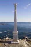 garibaldi genova纪念碑 免版税图库摄影
