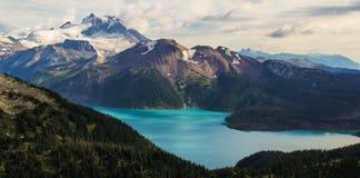 Garibaldi jezioro Obrazy Royalty Free