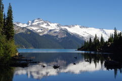 Garibaldi Lake. Coast mountains in British Columbia, Canada, Garibaldi Provincial Park Stock Image
