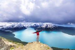 Garibaldi Lake Fotografering för Bildbyråer