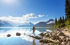 Garibaldi Lake Royaltyfria Foton