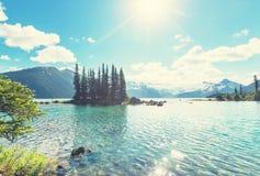 Garibaldi Lake royaltyfri foto