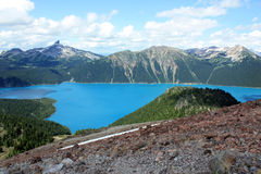 Garibaldi Lake And Black Tusk Royalty Free Stock Image