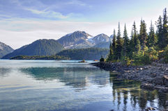 Garibaldi Lake Royalty Free Stock Images