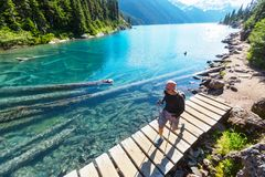 Garibaldi lake Royalty Free Stock Photos