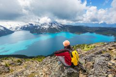 Garibaldi lake Royalty Free Stock Photography