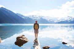 Garibaldi lake Royalty Free Stock Images
