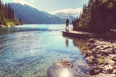 Garibaldi lake Stock Photography