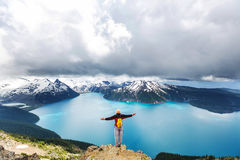 Garibaldi lake Stock Images