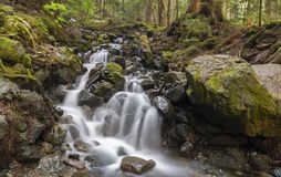 Garibaldi Lake Hiking Trail Waterfall Stock Photography