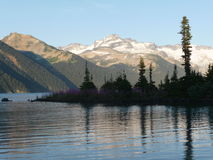 Garibaldi Lake no Columbia Britânica Imagem de Stock