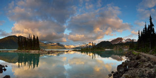 Garibaldi Lake Sunset Stock Images