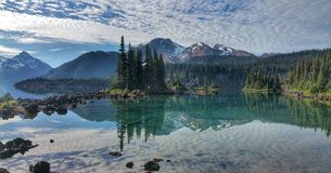 Garibaldi Lake Water Reflection Imagem de Stock