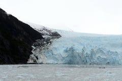 Garibaldi lodowiec na archipelagu Tierra Del Fuego Obraz Royalty Free