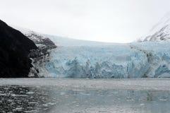 Garibaldi lodowiec na archipelagu Tierra Del Fuego Obraz Stock