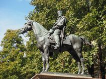 Garibaldi-Monument im Bologna lizenzfreie stockfotos