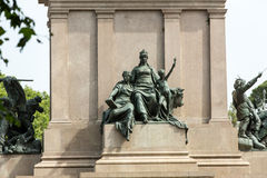 Garibaldi Monument on Janiculum Hill in Rome, Stock Images