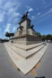 Garibaldi Monument in Rome Royalty Free Stock Photos