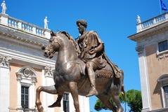 Garibaldi Monument Rome Royalty Free Stock Photo