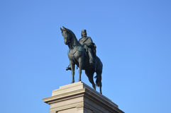 Garibaldi Monument Rome Stock Photo