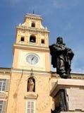 Garibaldi in Parma Royalty-vrije Stock Foto's