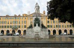 Garibaldi's monument Stock Photos