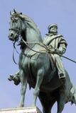 Garibaldi's statue in Milan, Italy Royalty Free Stock Image