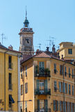 Garibaldi square in the center of Nice Royalty Free Stock Images