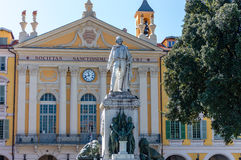 Garibaldi square in the center of Nice Royalty Free Stock Photos