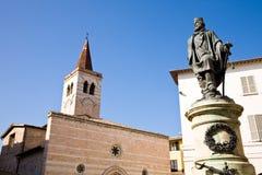 Garibaldi Square, Foligno Stock Image
