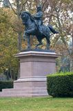 Garibaldi statue gardens daisy, Bologna Stock Photography