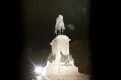 Garibaldi statue to the Pincio Royalty Free Stock Photography