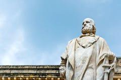 Garibaldi statue in Trapani, Italy Royalty Free Stock Photo