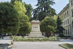 Garibaldi statue Stock Photography