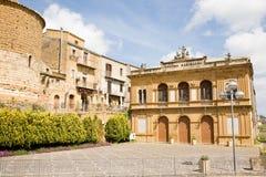 Garibaldi theater, Piazza Armerina, Sicily Stock Photography