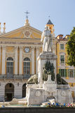 Garibaldimonument in Nice, Frankrijk Royalty-vrije Stock Afbeelding
