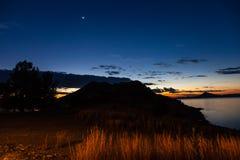 Gariep水坝,南非 库存照片