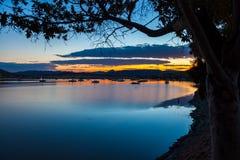 Gariep水坝,南非 免版税库存图片