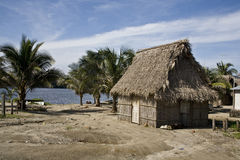 Garifuna house  Royalty Free Stock Photography