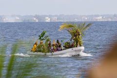 Garifuna settlement day Royalty Free Stock Image