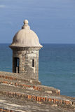 Garita, san juan Royalty Free Stock Photography
