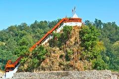 Garjia-Tempel lizenzfreie stockfotografie