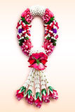 Garland in Ancient Thai Style Royalty Free Stock Images