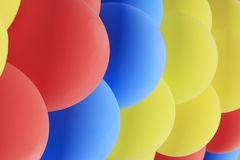 Garland of  balloons Stock Photography
