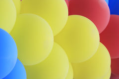 Garland of  balloons Stock Photo